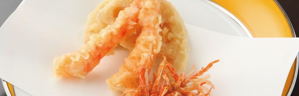 サクサクであっさりした天ぷらです。
